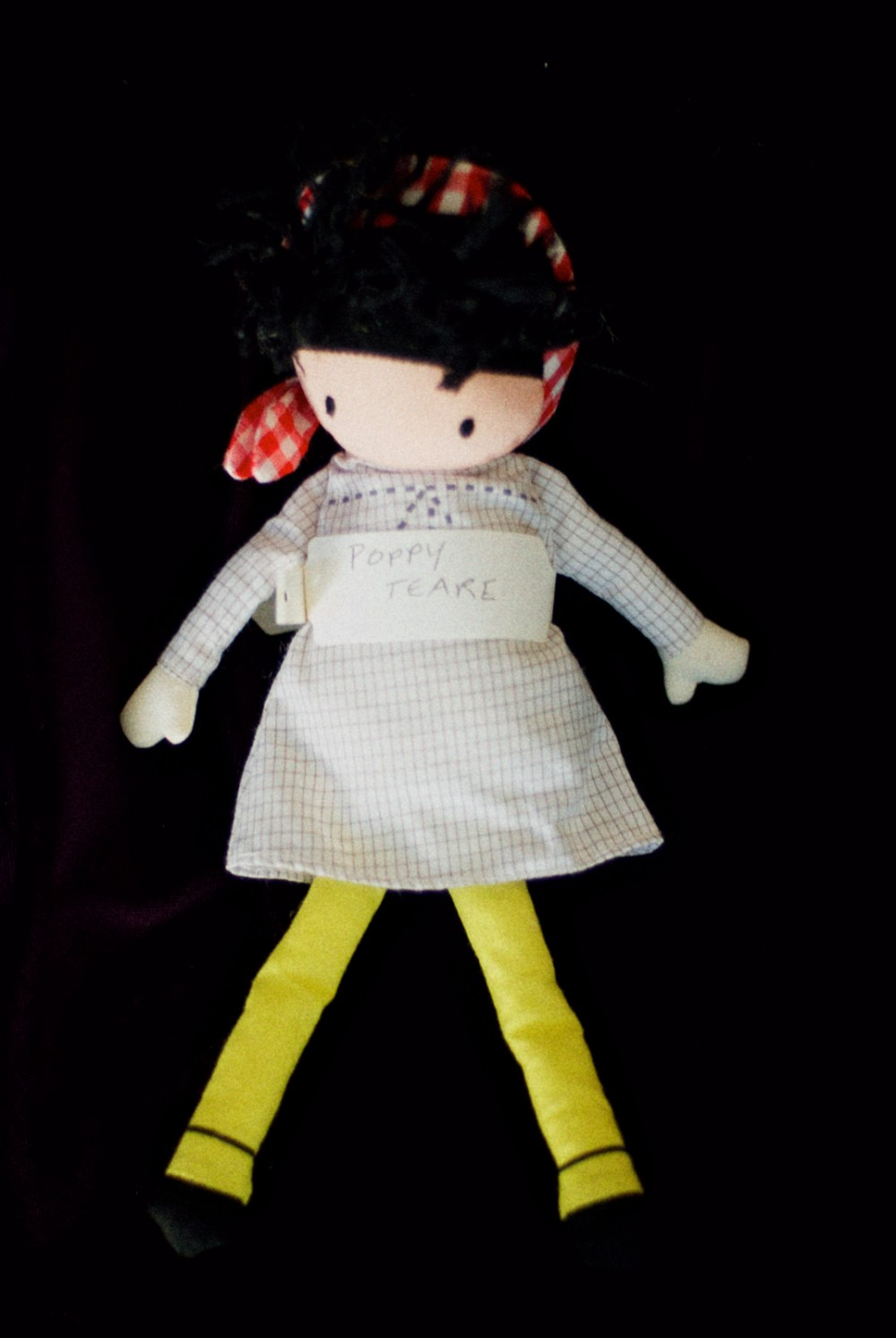 08 Dec - Poppy Nametag Doll