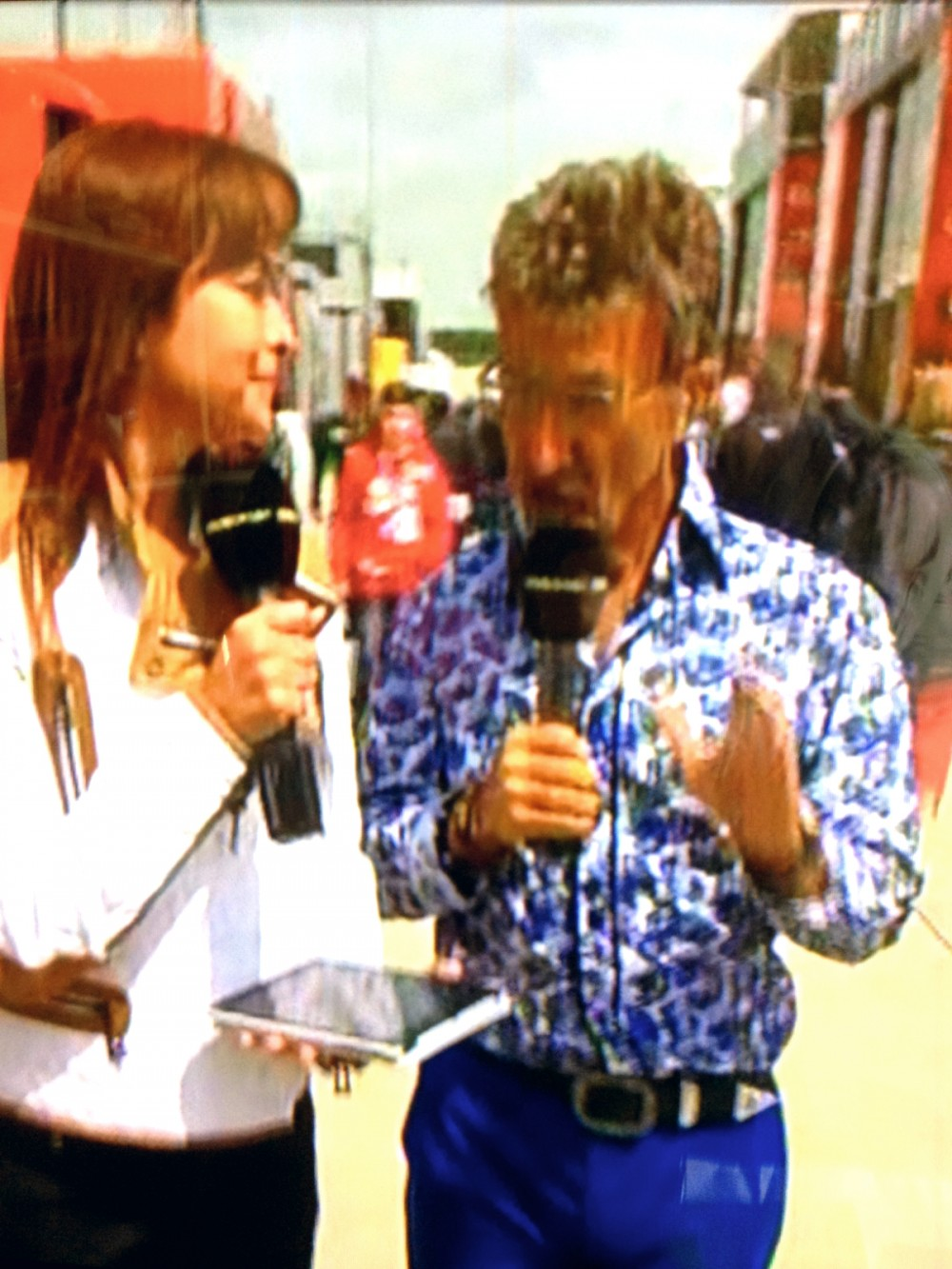 Eddie Jordan and not Bernie Ecclestone was Poppy's 'funny little man'